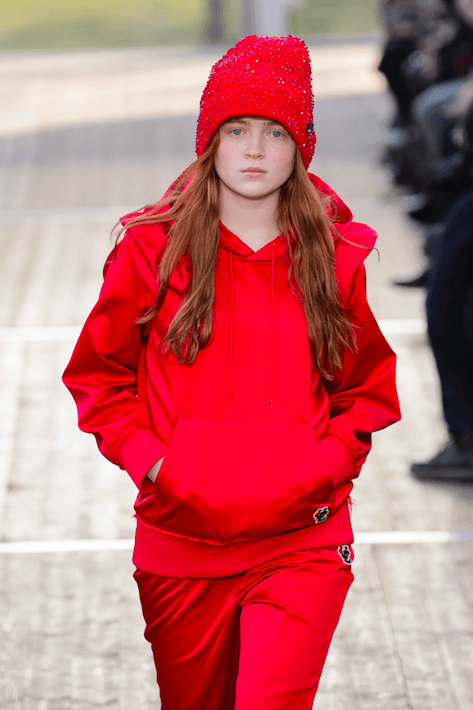 Undercover_pfw_paris_paris fashion week_modeweek_Sadie Sink_Madmax_stranger things_modeweek_mode_fashion_winter 2018