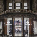 mode, armani, opening, winkel, antwerpen