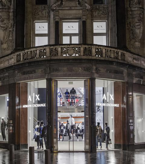 Nieuw in Antwerpen: Armani Exchange store
