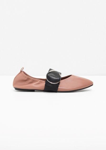 trend, shoenen, lente, zomer, 2018, accessoires, plat, ballerina