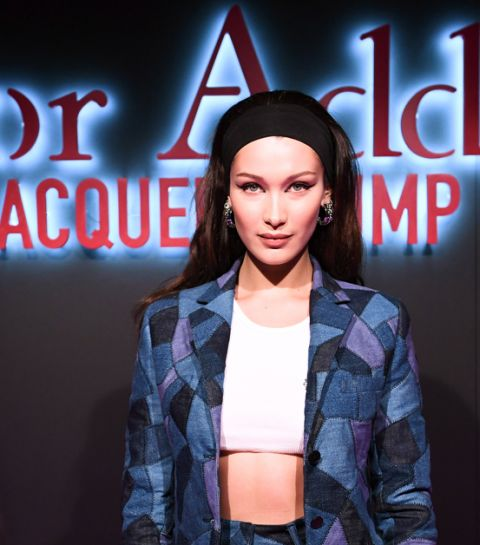 Elle ontmoette Bella Hadid op de Dior Addict disco party