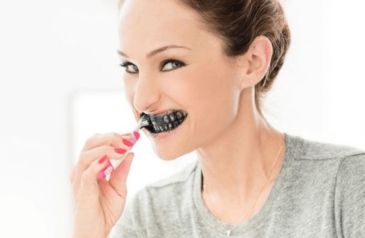 houtskool tandpasta charcoal zwart dr organic