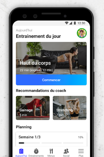 sport, app, thuis, workout, fizzup