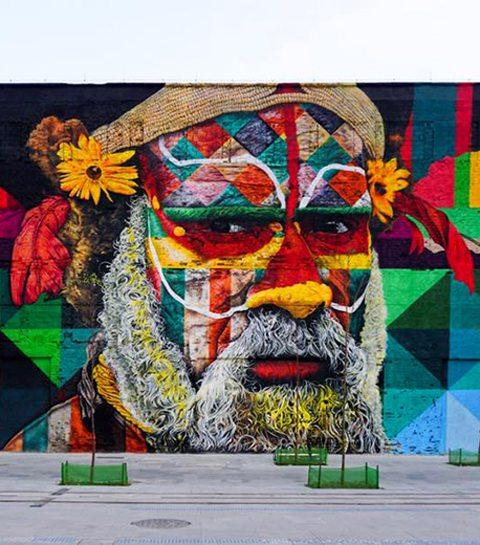 Instagram Alert: Hier vind je de allermooiste street art ter wereld