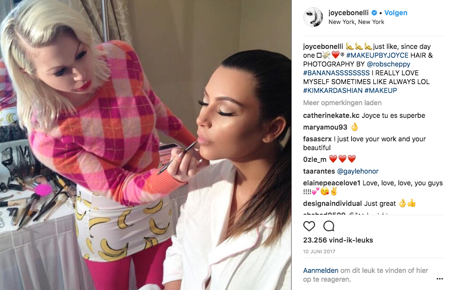 Achter de schermen met Kim Kardashians make-up artist Joyce Bonelli - 12