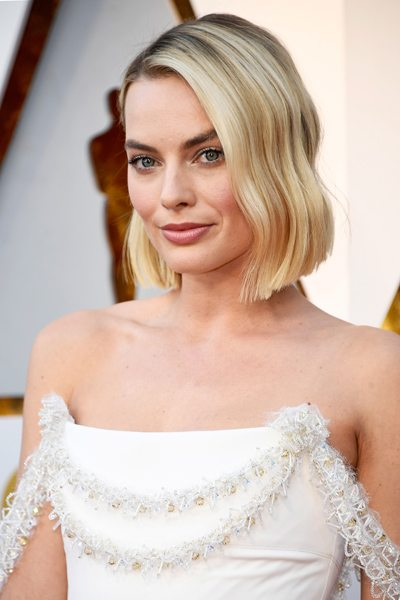 oscars 2018 beauty make-up margot robbie