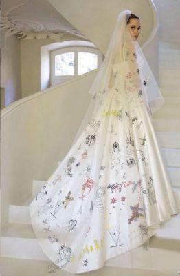 huwelijk, trouw, celeb, sterren, inspiratie, wedding, angelina jolie