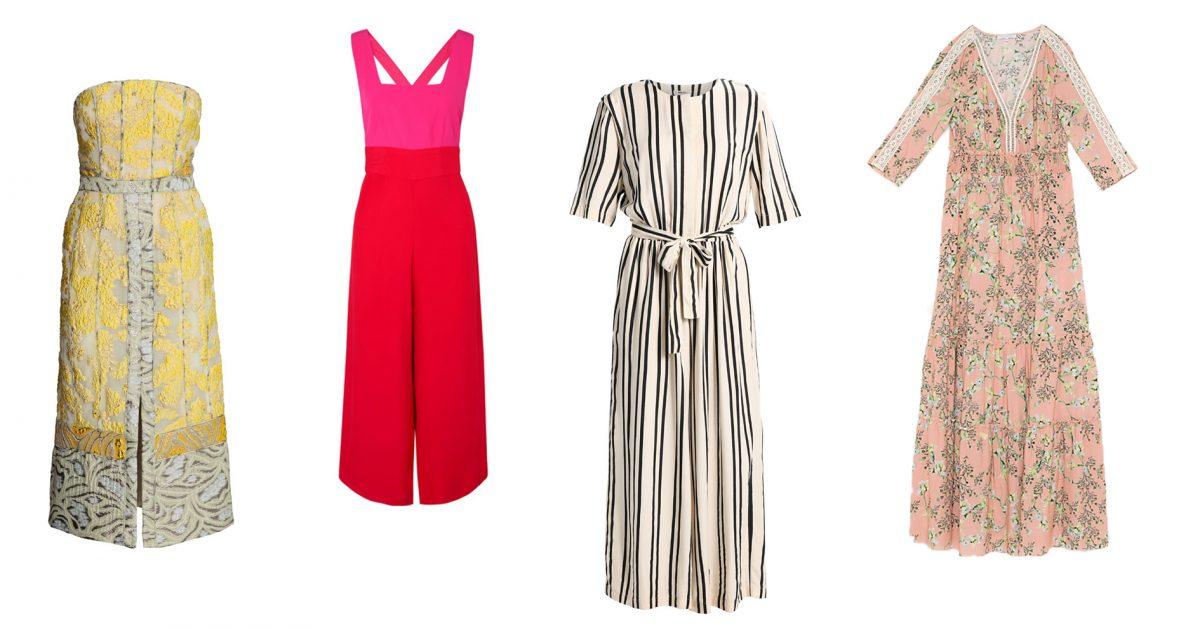 Wedding shopping chique outfits voor op een lentehuwelijk