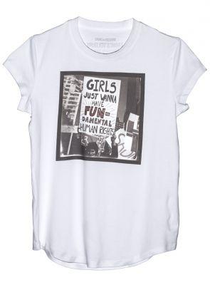 gir power shirt zadig voltaire micol sabbadini tshirt vrouwendag