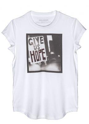 girl power shirt zadig voltaire micol sabbadini tshirt vrouwendag