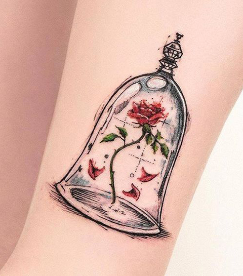 Te leuk: 30 schattige Disney-tattoo's voor grote meisjes
