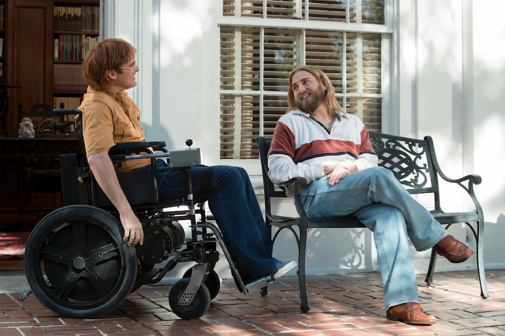 don't worry he won't get far on foot joaquin phoenix filmtip cinema movie gus van sant