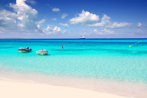 vakantie, eiland, formentera, spanje, strand