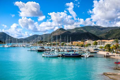 vakantie, eiland, lefkada, griekenland, watersport, surf