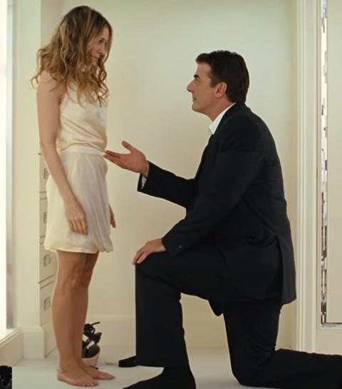 De 10 meest romantische huwelijksaanzoeken op het witte doek