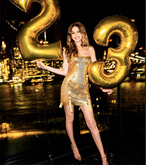 Zo vierde golden girl Gigi Hadid haar bijzondere b-day