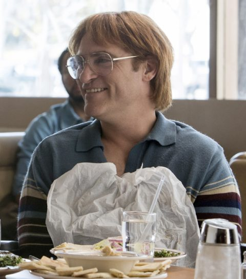 Filmtip: Joaquin Phoenix in Don't worry, he won't get far on foot.
