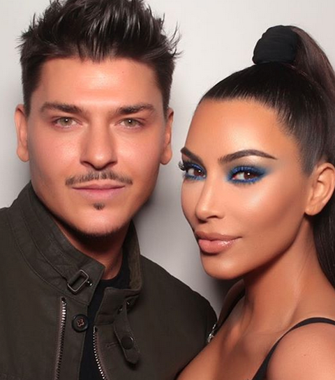 Hoe Kim Kardashian deze foute make-upkleur weer hip maakt