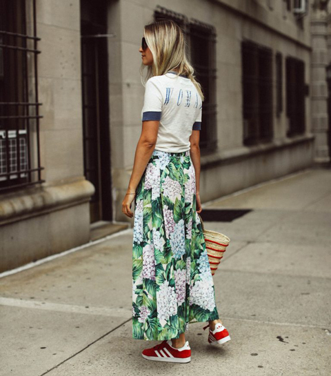Shopping: De maxi-rok is je ideale lente must have