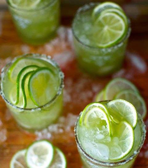 komkommer mezcal margarita