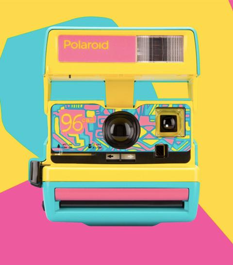 Geniaal: De nineties Polaroid-camera is terug van weggeweest