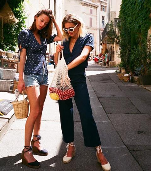 Trend alert: Wordt de visnettas deze zomer de nieuwe it-bag?