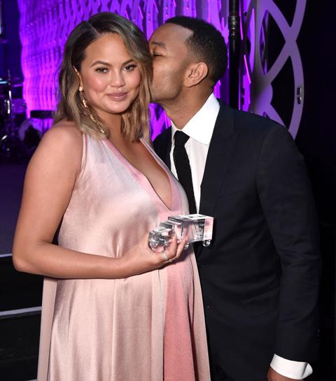 Chrissy Teigen en John Legend verwelkomen hun tweede kindje