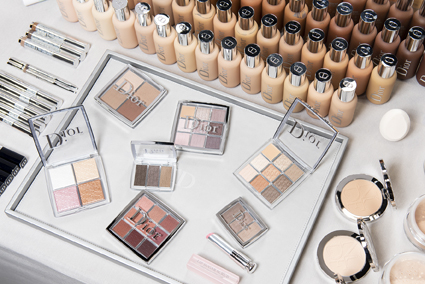 dior backtstage cruise catwalk make-up beauty