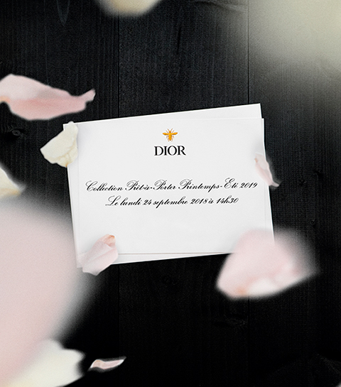 Volg hier live de Christian Dior ready-to-wear ss19 show
