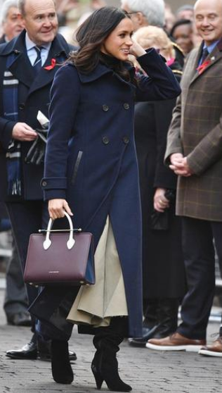 meghan markle mini tote strathberry