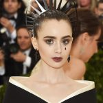 met gala, 2018, beauty, lily collins
