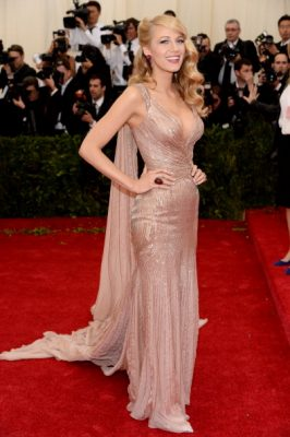 met gala, red carpet, dress, blake lively