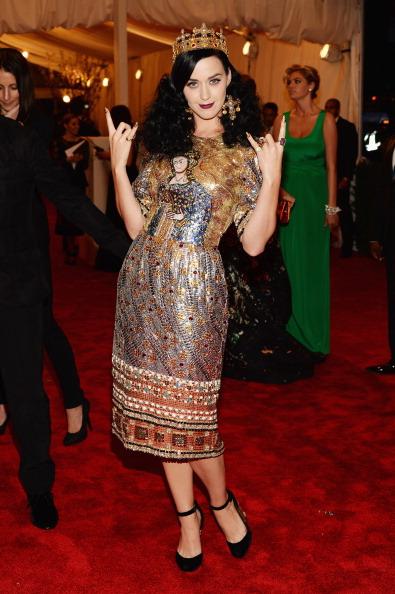 met gala, red carpet, dress, katy perry