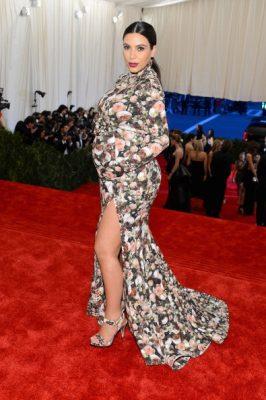met gala, red carpet, dress, kim kardashian