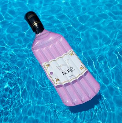 opblaasbaar, zwembad, inflatable, waterpret, rosefles