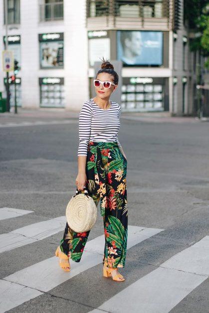 trend, 2018, print, combineren, mixen, stylen