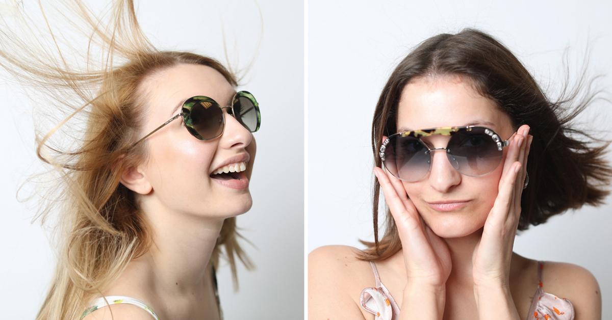 shopping zonnebrillen zonnebril sunglasses zomer 2018 stagiaire prada giorgio armani