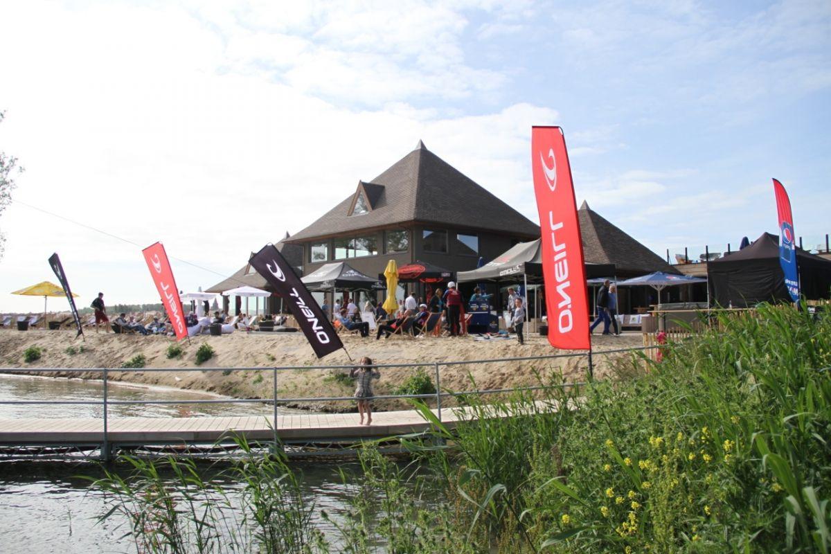 Knokke openlucht zwemvijver zwembad België