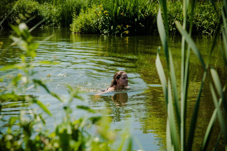 zwembad zwemvijver Grimbergen Vlaanderen