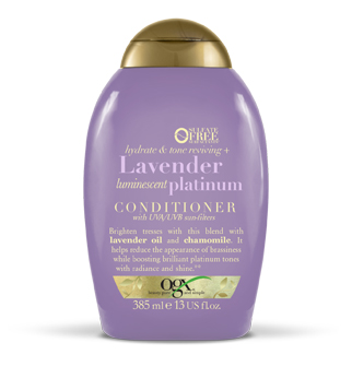 blond haar lavender platinum conditioner ogx