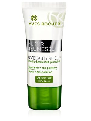 zonnebscherming beauty shield yves rocher beauty shield