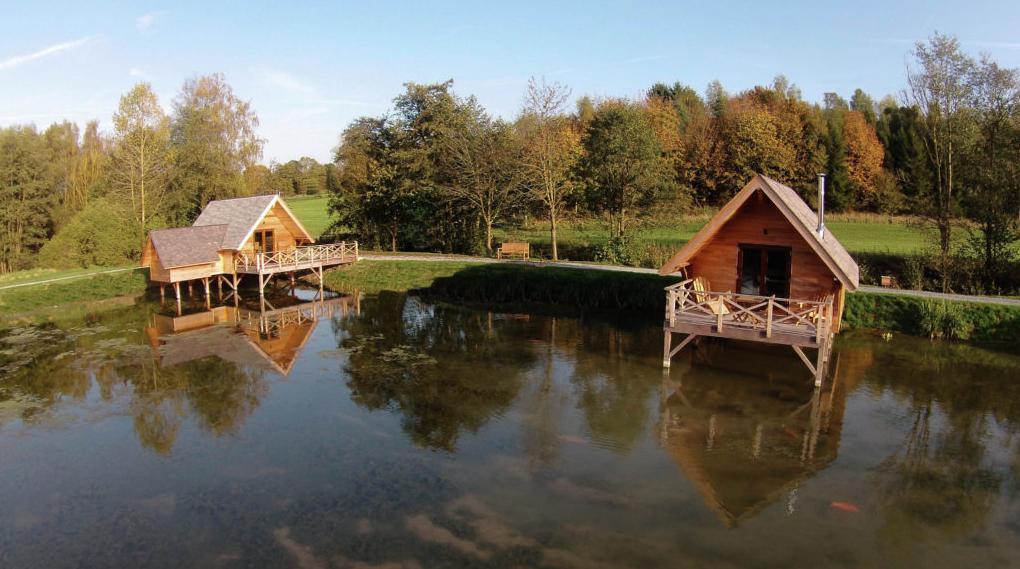 Glamping goals: in dit Belgische park slaap je in waterhutjes - 2