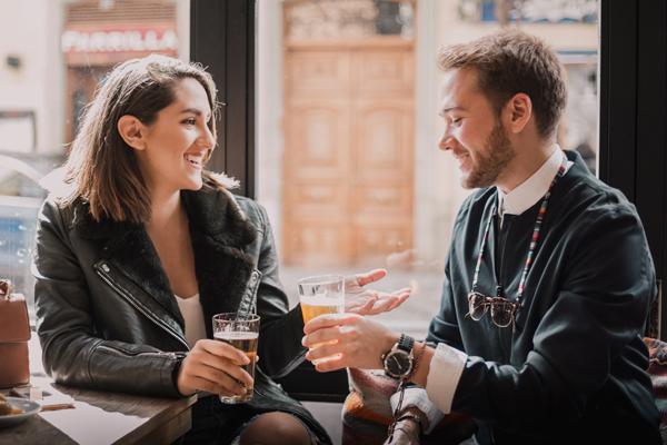 cocktail date bier