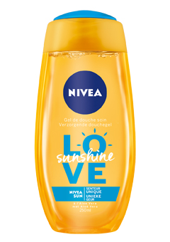 nivea sunshine shower
