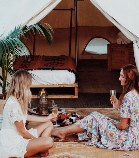 Festival glamping: 15 items om je tent te pimpen