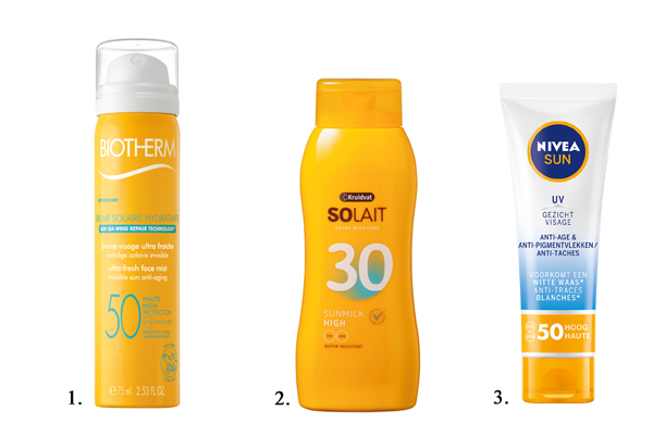 chemische zonnebescherming shopping