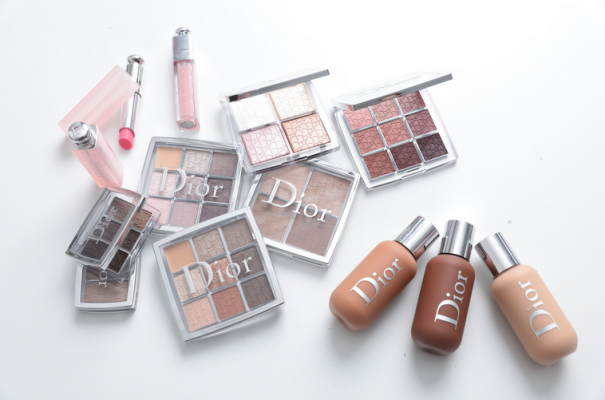 dior backstage glow contour face & body