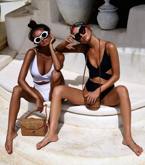 10 hyper sexy swimwear labels uit gerecycleerd plastiek
