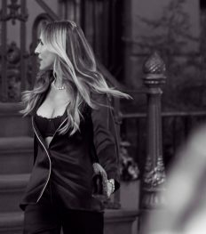 Intimissimi brengt Carrie Bradshaw opnieuw tot leven
