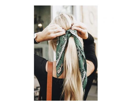 kapsels hittegolf hoge temperaturen foulard sjaaltje